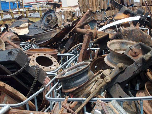 metallika antikeimena (scrap)